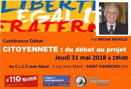 Conférence M MIAILLE Citoyenneté